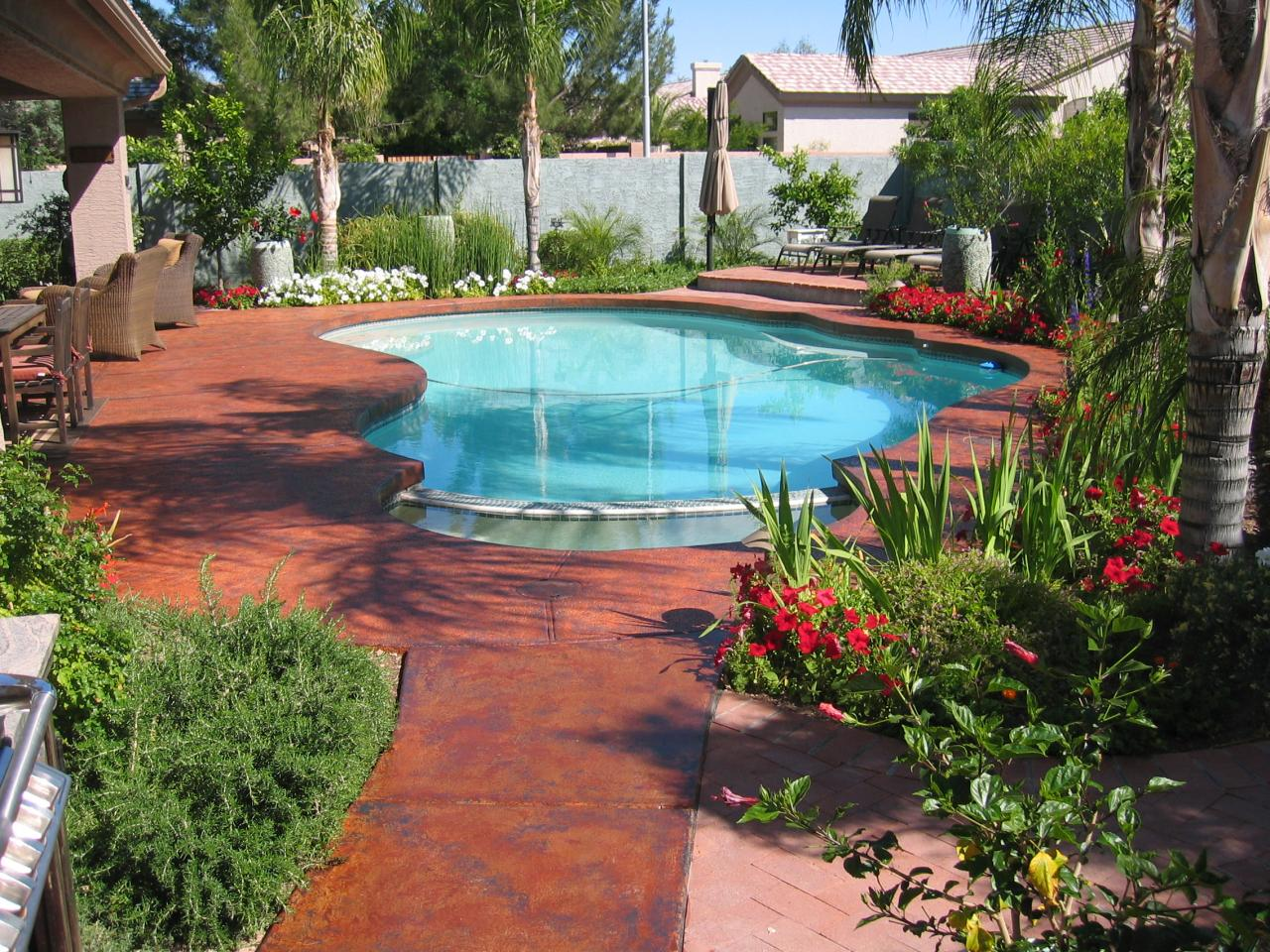 Pool Deck Color Ideas Color Eclipse Painting Photo Gallery