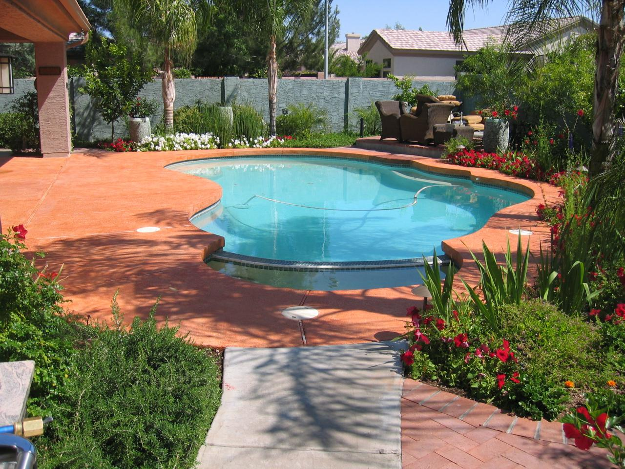Concrete Pool Decks Photo Gallery Color Eclipse Painting  Photo Gallery Pool Decksdoors